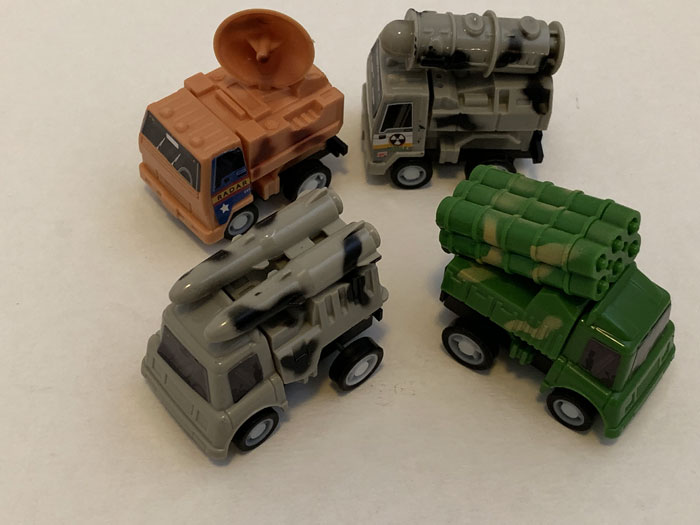 Pullback Combat Vehicles-24/pk