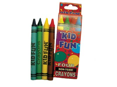 Crayons-4 pack