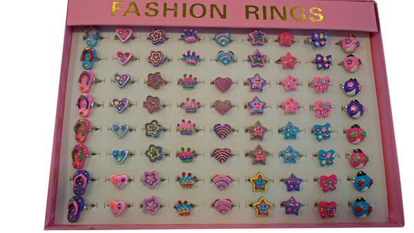 Sparkle Glitter Rings-Large Box