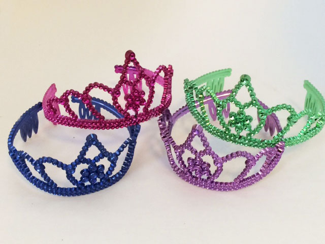 Coloured Tiara Crown