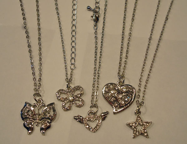 Silver Necklace Assortment