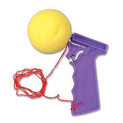 sponge ball shooter